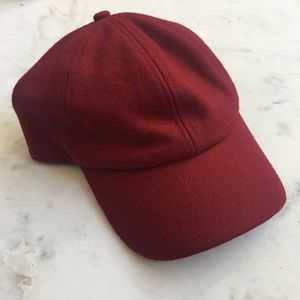 Sole Society Wool Baseball Hat O/S